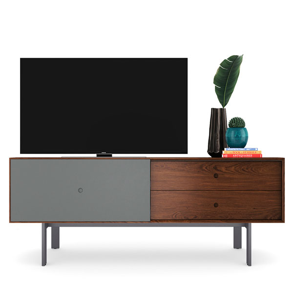 BDI High Quality TV Media Cabinet for upto 82inch TV with 30inch height