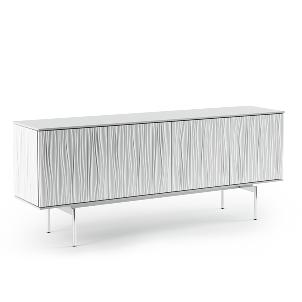 All White Sideboard