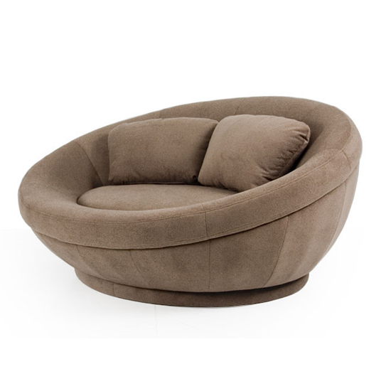Cellini Ufo Red Round Lounge Chair Sofa