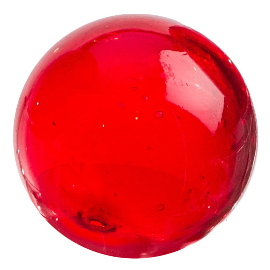 "Glass Sphere 3"" Solid Ruby"