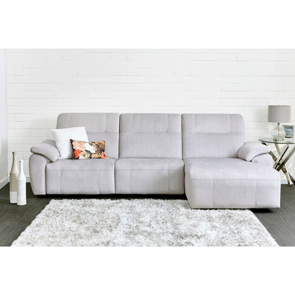 Elran North American Canadian Made Leather High quality Sectional with Recliners
