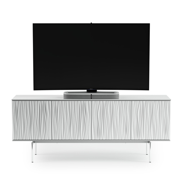 BDI All White TV Stand