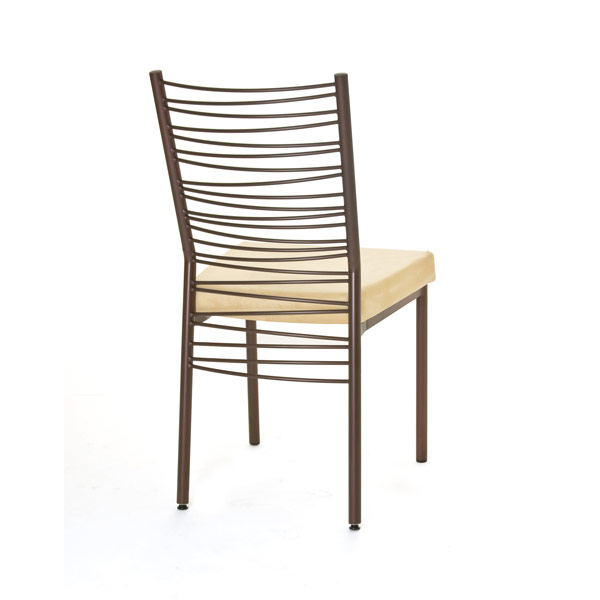 Amisco Crescent Side Chair 30123