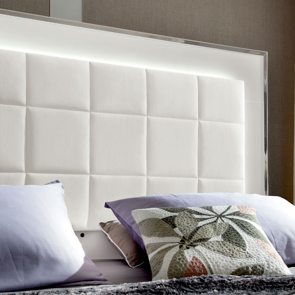 Italian Bedroom Padded Headboard