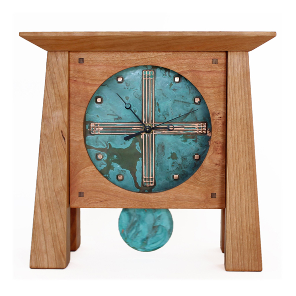 Sabbath Day Woods Prairie Mantel Clock