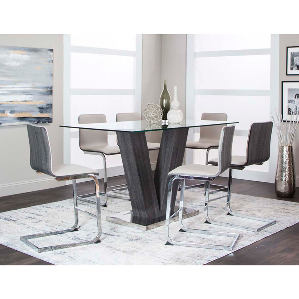 Contemporary Galleries V Counter Height Table 701
