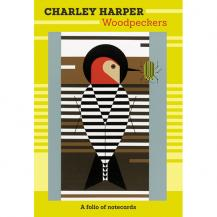 Charley Harper Boxed Woodpeckers Notecards