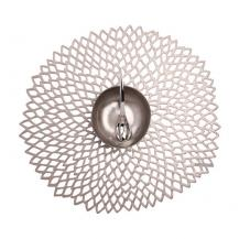 Chilewich Dahlia Placemat Gunmetal