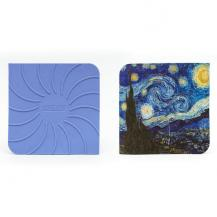 Van Gogh Starry Night Hot Pad Pot Holder Trivet Silicone Kitchenware