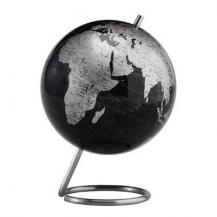 "World Desktop Globe 6"" Slate Gray"
