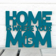 Home is Where Your Mom Is Sign #2134