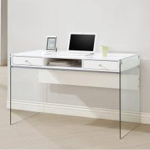 2 Drawer Student Desk with Glass Sides #636