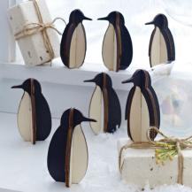 Penguin Decorations Set/12