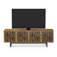 High quality TV Media Stand Cabinet with doors holds 70inch tv