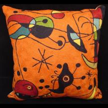 Handmade Miro Inspired Pillow CS18M9R