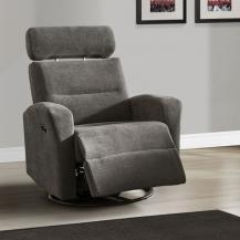 Edwin Swivel Power Rocker Recliner