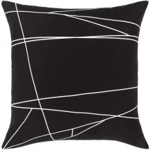 "Graphic Punch Down Pillow 18"" #1006"