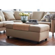 Expandable Ottoman from 47 to 60 inches