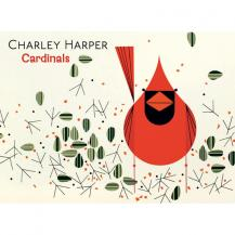 Charley Harper Boxed Cardinal Notecards