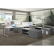Modular Commerical Office Furniture Affordable Quick Delivery Laminated Finish